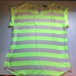 Bright striped blouse